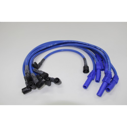 Eagle Blue 10.5mm Plug Leads E105808 Holden 253-308 w/- Female Dizzy Cap