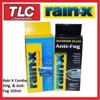 Rain X Rain-X RainX Original & Anti-Fog 103ml Combo Pack ***FREE POSTAGE***