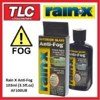 Rain X Rain-X RainX Interior Glass Anti Fog Anti-Fog 103ml
