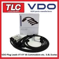 Quality VDO Plug Leads Holden Commodore VT-VY V6 Non S/C Statesman Calais