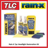 Rain X RainX Rain-X 7pc Headlight Restoration Kit ***FREE POST***