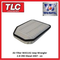 Air Filter WA5142 Jeep Wrangler JK 2.8 CRD Diesel 2007 - on