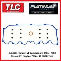 Rocker Tappet Valve Cover Gasket Kit VL Commodore R31 Skyline RB30E 3.0L JN640K