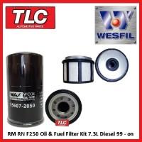 Oil & Fuel Filter Kit F250 F350 RN RM 7.3 Turbo Diesel 99 00 01 02 03 04 05 06