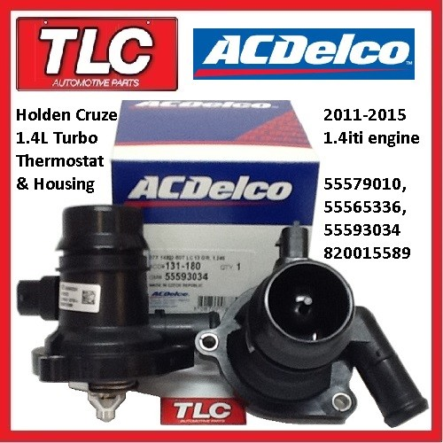 Genuine Holden Cruze JH Turbo 1.4 iti Thermostat ACDelco 11-15 55579010 55593034