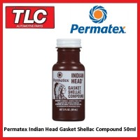 Permatex Indian Head Indianhead Gasket Shellac Compound 50ml