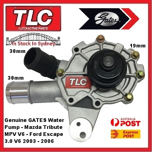 Water Pump & Housing 43505 Mazda Tribute MPV & Ford Escape ...