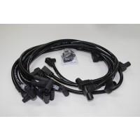 Eagle Black Plug Leads 10.5mm E105834BK SBC HEI Style Cap