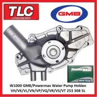 W1000 GMB Powermax Water Pump Holden VH VK VL VN VP VQ VR VS VT 253 308 5L