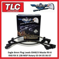 Eagle 8mm Plug Leads E84823 Mazda RX-8 RX8 RX 8 13B-MSP Rotary Wankel 2003-07