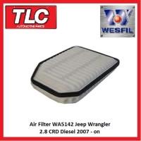 Air Filter WA5142 Jeep Wrangler JK 2.8 CRD Diesel 2007 - on