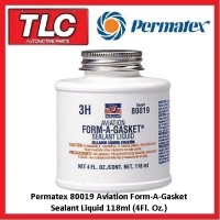 Permatex Aviation Form-A-Gasket 80019 Form A Gasket Liquid Sealant 118ml No. 3