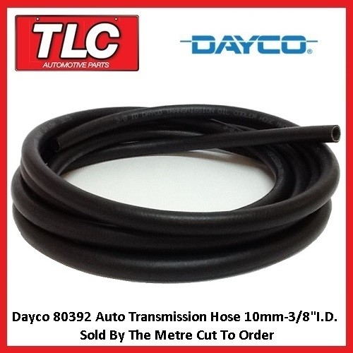 Dayco 80392 Transmission Trans Cooler Hose 10mm (3/8