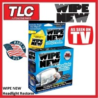 WIPE NEW Headlight Restoration Kit -WIPE 2 - Restore Headlights To New