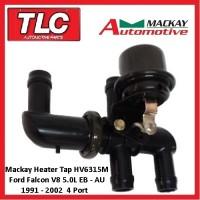 Heater Tap Valve Mackay HV6315M 4 Port Falcon EB ED EF EL AU V8 5.0 91-02