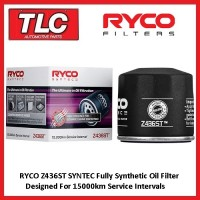 Ryco Syntec Z436ST Oil Filter Heavy Duty Pro Offroad High Perfomance