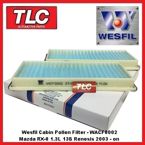 Wesfil Cabin Filter WACF0002
