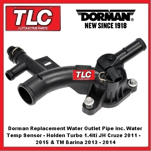Jh Cruze Tm Barina Turbo 1 4iti Water Outlet Pipe Sensor