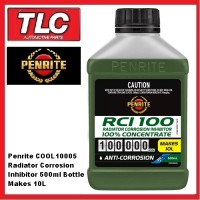 Penrite Radiator Corrosion Inhibitor 500ml Concentrate Makes 10L COOL10005