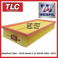 Wesfil Air Filter - TATA Xenon 2.2 DiCor Diesel 2009 - 2016