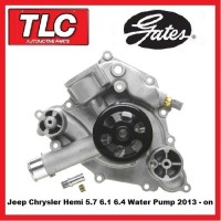 Gates Water Pump Chrysler Jeep 5.7 6.1 6.4 Hemi V8 300 SRT8 see description