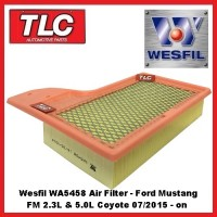 Wesfil Air Filter Ford Mustang FM 2.3 Turbo & 5.0 S/C Coyote 7/2015 on FR3Z9601A