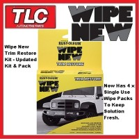 WIPE NEW Trim Restorer Kit - WIPE 1 - Restore Faded Plastics To New